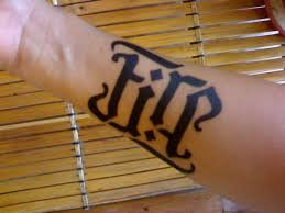 fire ambigram tattoo designs creativefan