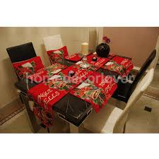wholesale christmas table placemats tapestry jingle bells printed