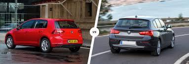 bmw new beetle turbo vw vw golf vs bmw 1 series premium hatch battle carwow