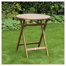 Tesco Bistro Table Buy Wooden Folding Bistro Table From Our All Garden