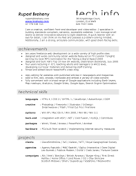 Interactive Resume Template Film Resume Template Word Resume For Your Job Application