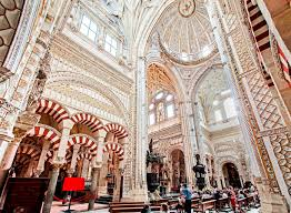 the landmark cathedral in cordoba spain is the mosque of córdoba
