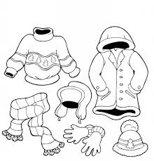 13 images of snow pants coloring pages winter clothes coloring