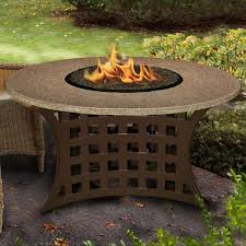 Patio 21 Ultimate Small Patio by La Costa 42 Inch Propane Fire Pit Table By California Outdoor