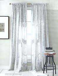 Silver Window Curtains White And Silver Curtains Hpianco