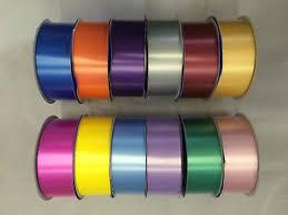 poly ribbon florist ribbon roll reel 100 yards 2 wide 91m poly ribbon 50mm