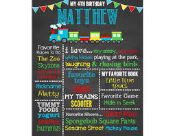 birthday chalkboard birthday chalkboard sign