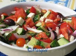 cuisine grecque traditionnelle la fille de l anse aux coques salade grecque traditionnelle