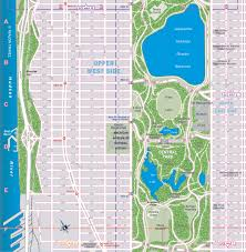Map Of New York City Attractions Pdf by Upper West Side Map World Map Photos And Images