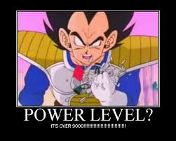Over 9000 Meme - dragon ball z power levels and scouter over 9000 or over hyped
