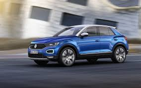 volkswagen t roc revealed in production guise