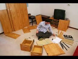 Easy To Assemble Desk Stop Motion Bush Desk Assembly Youtube