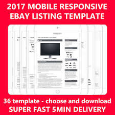 ebay template design template ebay auction listing professional mobile responsive