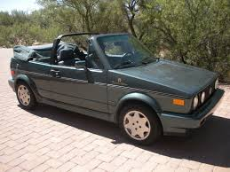 old volkswagen rabbit convertible for sale 1991 volkswagen cabriolet etienne aigner edition german cars for