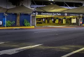 downtown car park