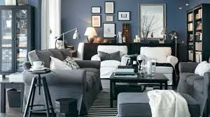 beautiful grey blue living room on decorating home ideas with grey