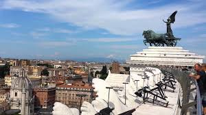 rome italy from the top of the