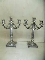 candelieri in argento antichit罌 il tempo ritrovato antiquariato e restauro argenti