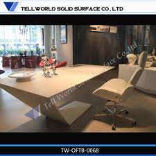 High End Computer Desk Fashionable High Gloss White Office Furniture High End Office