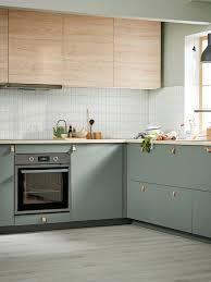 ikea grey green kitchen cabinets bodarp grey green door 60x80 cm ikea ikea kitchen