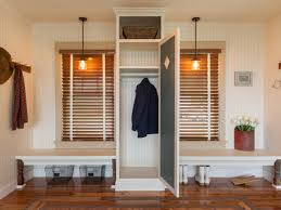 how to decorate a foyer in a home 7 stylish mudroom design ideas hgtv u0027s decorating u0026 design blog
