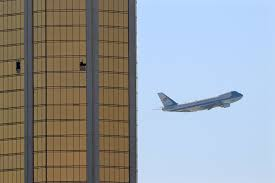 these photos of air force one and mandalay bay are chilling