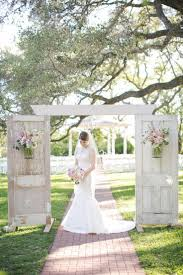 garden wedding reception decoration ideas 35 rustic old door wedding decor ideas for outdoor country