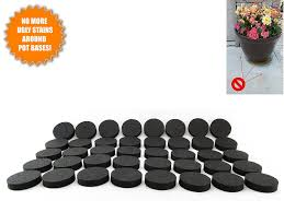 8 Pots by Amazon Com Flower Pot Feet Invisible Flower Pot Risers Rubber