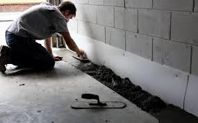 concrete foundation waterproofing interior bat wall membrane