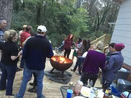 fire pits on wooden decks safety tips to follow