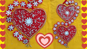 diy wall hanging diy heart shape wall decor ideas for valentines