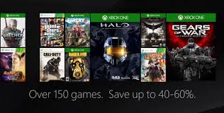 black friday deals for xbox one microsoft kicks off black friday with deals on xbox one 360 games