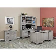 computer desk and credenza shellsea 4 piece set desk credenza hutch lateral file