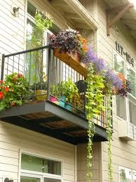 Porch Rail Flower Boxes by Our Apartment Patio Deck Last Summer Diy 7 U0027 Cedar Planter In Part