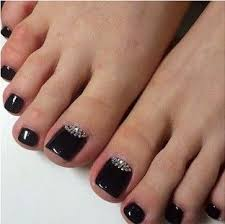 best 25 black toe nails ideas on pinterest black pedicure