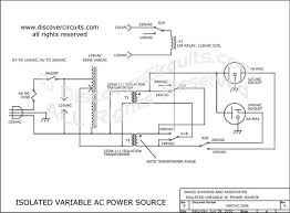 circuit variable isolated ac voltage spans 0vac to 280vac