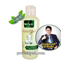 Sabun Wish cleansing shower gel dr boyke shower gel cleansing produk