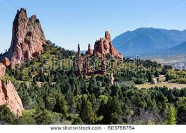 garden of the gods stock images royalty free images u0026 vectors