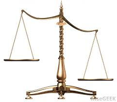 what are the scales of justice with pictures