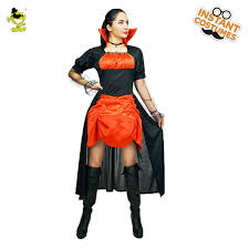 Vampiress Halloween Costumes Aliexpress Buy 2017 Women U0027s Deluxe Vampiress Costume Gothic