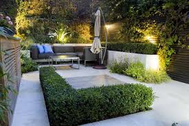 landscape ideas for small backyard no grass with living area