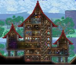 Cool Houses A Cool House Terraria