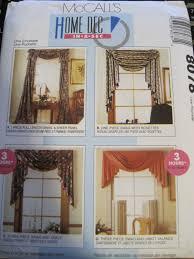 uncut valances cascade window treatments covering curtains drapery