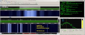 sdr console v2 hackrf one and decoders usa satcom