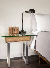 bedroom nightstand dark wood mirrored nightstand oak nightstand