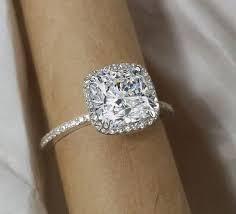 cushion ring cushion cut diamond engagement ring soft timeless