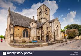 church of st mary de crypt in greyfriars gloucester stock photo