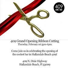 grand opening ribbon 409 grand opening ribbon cutting