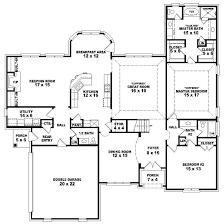 five bedroom home plans five bedroom house plans bedroom at estate