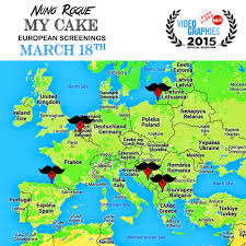 Europe Capitals Map by Tonight U0027my Cake U0027 Premieres In 6 European Countries Map U2013 La